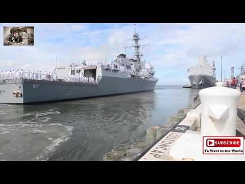 Aircraft Carrier Strike Group Departs Naval Station Norfolk