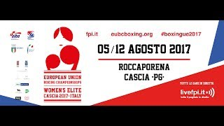 EUBC European Union Women's Boxing Championships Cascia 2017 - Day 1