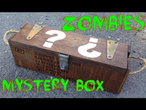 Real Life Call of Duty Black Ops Zombies Mystery Box Replica