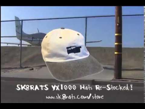 SK8RATS VX1000 Hat Commercial Brian Baca Brett Sube