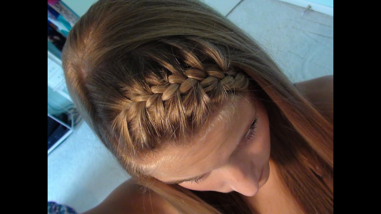 Hairstyles with curls and braids for girls