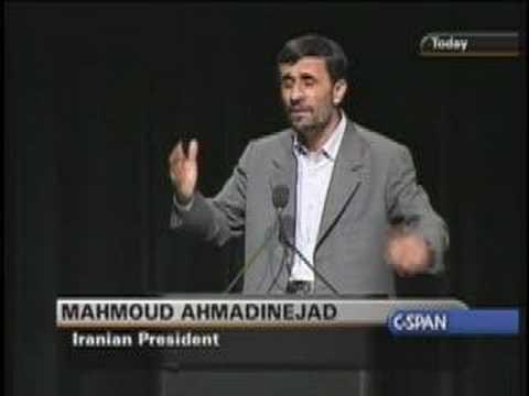 Part 8 : President Ahmadinejad at Columbia University