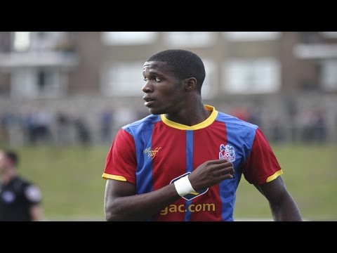 Official Wilfried Zaha Signs For Crystal Palace