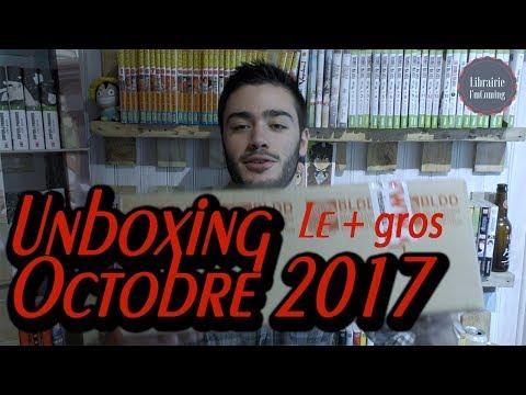 Viens voir ce qu'il y a dans mon carton#3: Unboxing mangas Octobre thumbnail