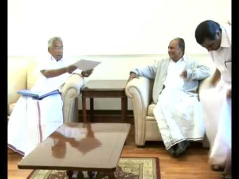Delhi visit - Kerala Chief Minister Shri.Oommen Chandy meets A K Antony