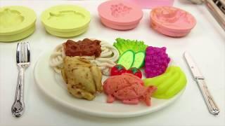 Đồ chơi mini| Mini game - Nấu ăn bằng đất sét