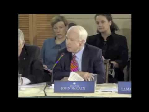 Senator John McCain's Remarks at the Health Care Summit - Feb 25, 2010 Video