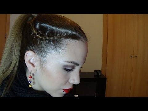 Peinados Faciles con Trenzas: Trenzas con Coleta