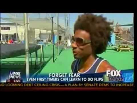 Cirque Du Anna   Anna Kooiman Learns Flying Trapeze   Fox & Friends