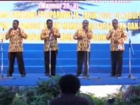 Kwartet Kab. Jayapura - Mari Memecah Roti Surgawi - Pesparawi IX Biak 2007