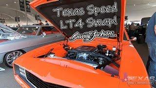Barrett Jackson Scottsdale 2019 with Texas Speed!! The LT4 1969 Camaro Rolls Across The Block!