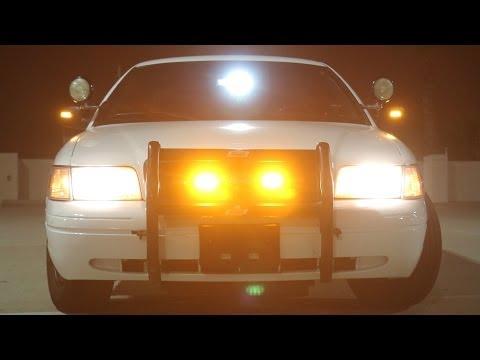 Emergency Vehicle Surface Mount TIR 3W LED Strobe Warning Light Head - LAMPHUS® SolarBlast™ SBLH03