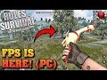 NEW First Person Mode Gameplay!! (Rules of Survival)
