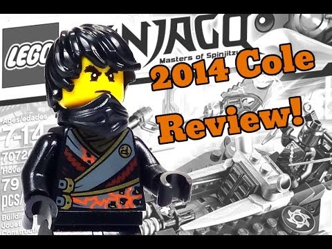 2014 LEGO Ninjago Minifigure Cole Review from 70720 Hover Hunter