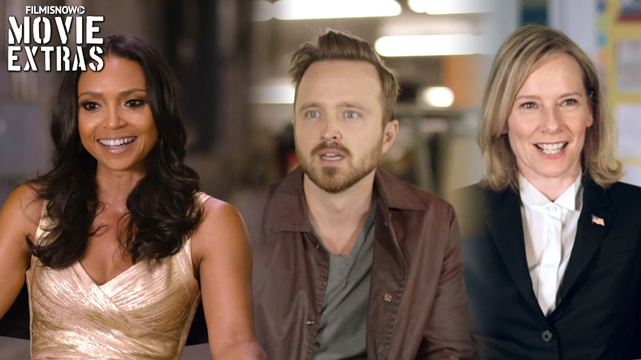 Central Intelligence | On-set with Danielle Nicolet, Aaron & Amy Ryan  [Interview]