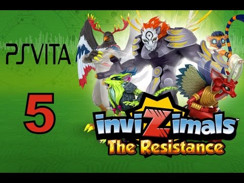 Invizimals - The Resistance - PS Vita Let's Play Walkthrough Part 5 - Reptyrant Evolves!