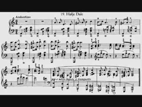 Григ Эдвард - Двадцать пять норвежских народных песни и танца, op.17