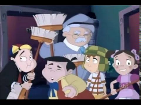 Chaves Em Desenho Animado Ep. 065 - A Noite Dos Espantos !