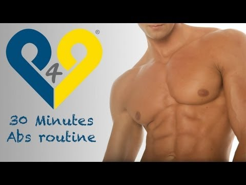 30 Minutes Abs Workout - The Insane Ab routine
