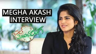 Megha Akash Exclusive Interview about Chal Mohana Ranga Movie  | Nithin, Megha Akash