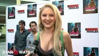 Madison Dylan red carpet interview at