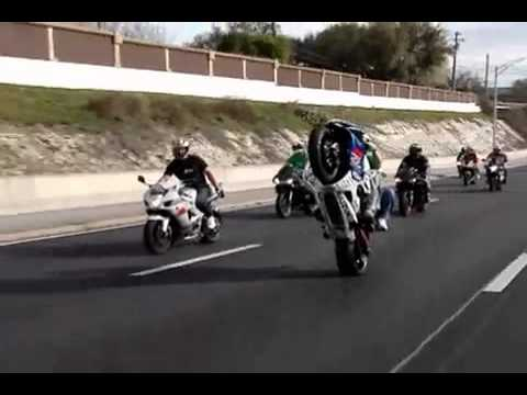 DSR Dallas Stunt Riderz St Patty Day Ride 1