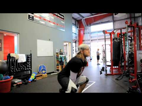 AJ Hawk Workout: Kettlebell Strength Circuit