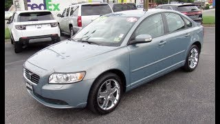 2008 Volvo S40 T5 AWD Walkaround, Start up, Tour and Overview