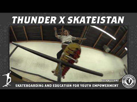 Thunder X Skateistan