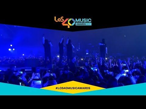 Thirty Seconds to Mars  Walk on Water  from Spain  LOS40 Music Awards 2017