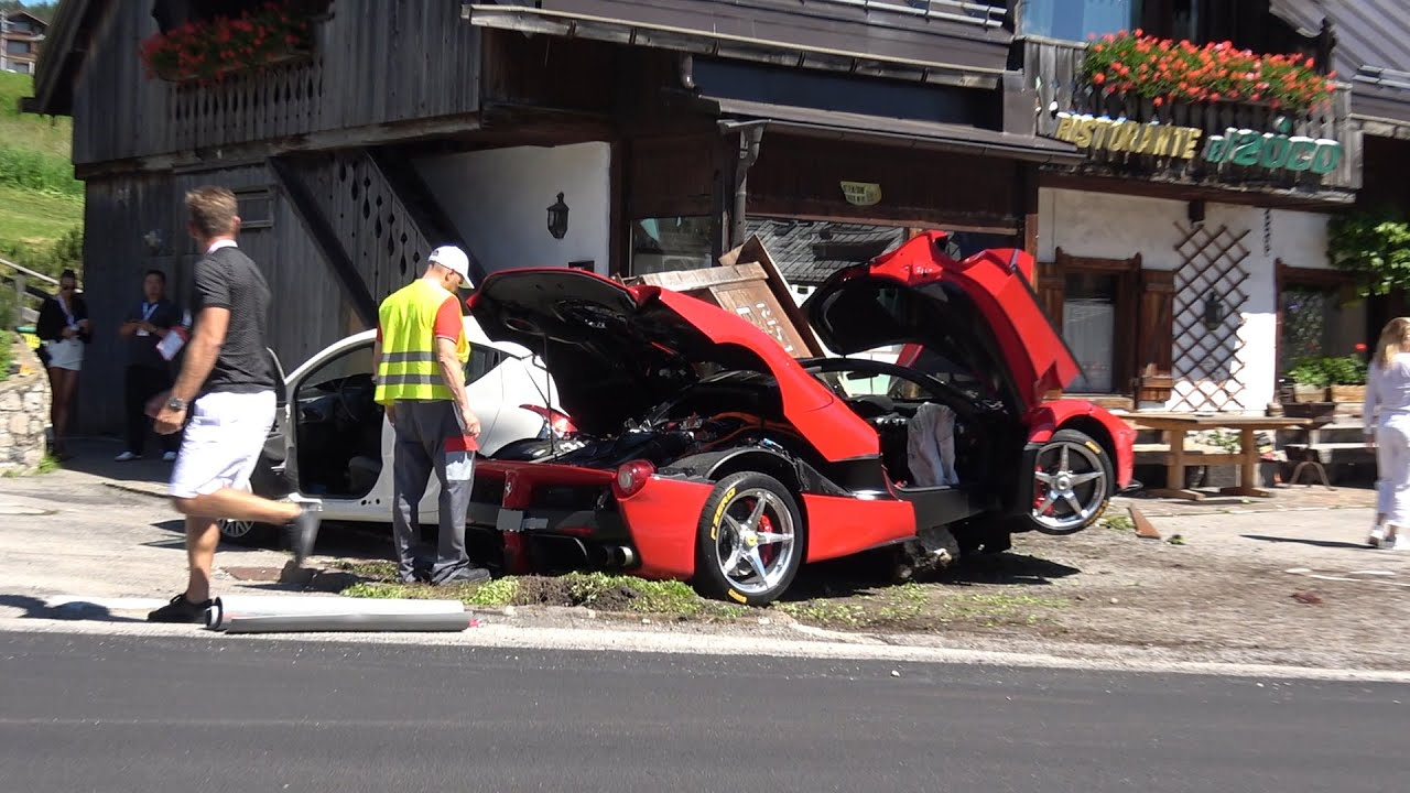 This Is What It Looks Like To Destroy $4M Worth Of Car