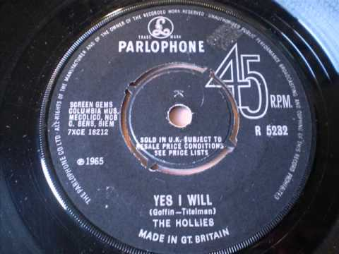 Hollies - Yes I Will