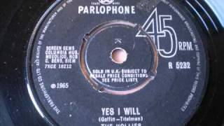 Watch Hollies Yes I Will video