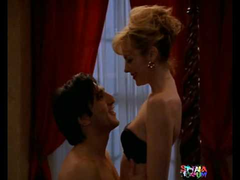 Kim Cattrall barefoot red toenails Video