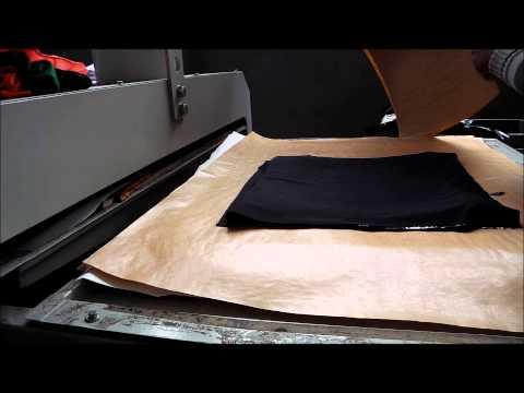 Fusão do Filme Plástico para Dublagem de Tecidos