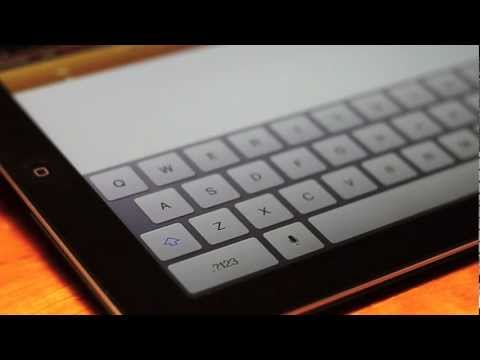 The New iPad Dictation iPad 3 Test & Review & Siri