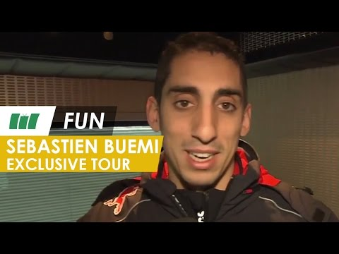 FUN...F1 Driver Sébastien Buemi takes you on an exclusive tour