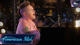 Effie Passero Surprises Judges With Original Tune on Piano - American Idol 2018 on ABC