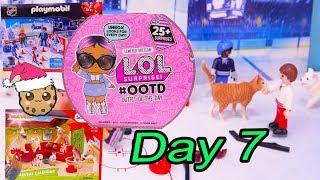 Day 7 ! LOL Surprise - Playmobil - Schleich Animals Christmas Advent Calendar - Cookie Swirl C