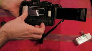 Pentax Super-A / Super Program (Loading a film into the camera)