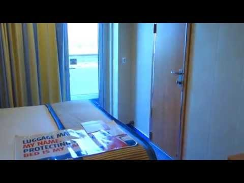 Carnival Breeze state room Review tour