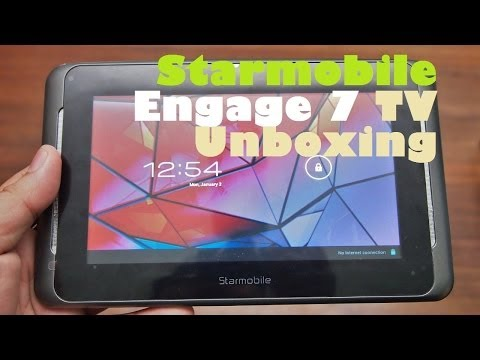 Starmobile Engage 7 TV Unboxing - 7.0
