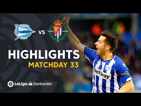 Highlights Deportivo Alaves vs Real Valladolid (2-2)