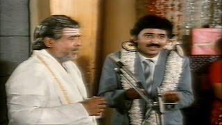 Rudraveena || Ramesh Aravind Cheat Gemini Ganesan Sentiment Scene || Chiranjeevi, Shobana