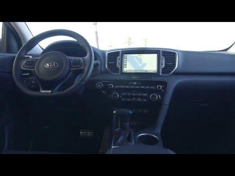 2017 Kia Sportage SX - Interior Design Trailer | AutoMotoTV