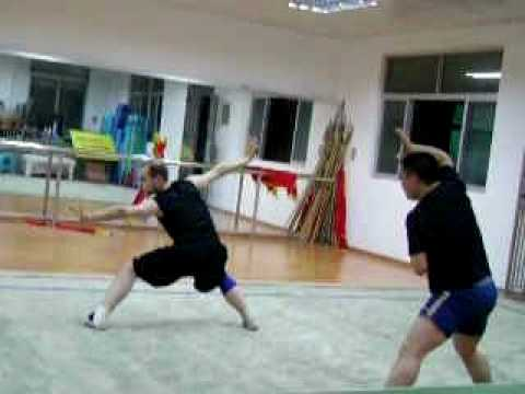Learning Bajiquan with Chenguang Laoshi Image 1