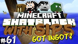 Minecraft Skyblock with Yogscast Sips #61 - Got Ingot?