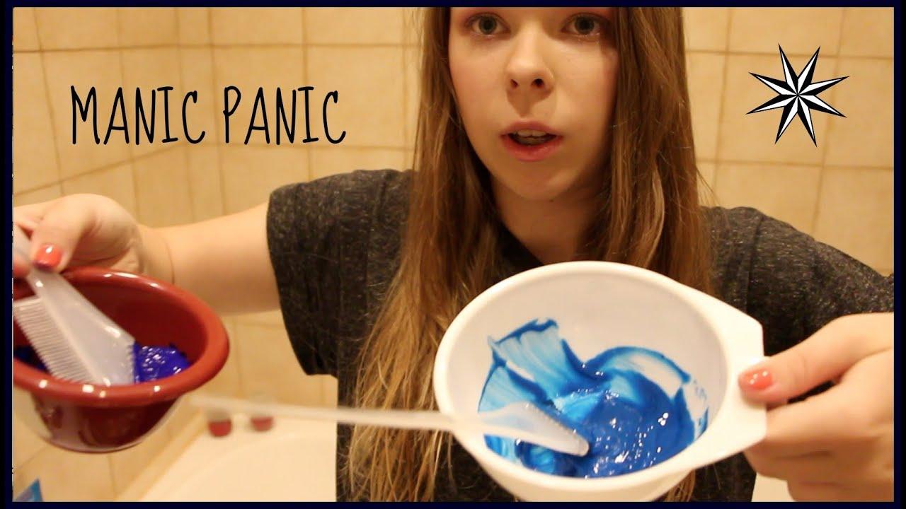Как в домашних условиях сделать голубую краску для волос