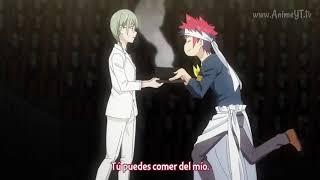Yukihira hace el mejor Soba / Isshiki dice que Yukihira es aterrador - Shokugeki no Soma T4 Cap 12
