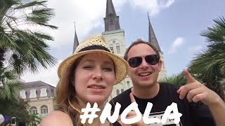 NEW ORLEANS - BEST THINGS TO SEE and EAT in FRENCH QUARTER - Vlog